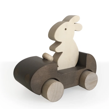 Wooden Bunny Car on Design Life Kids