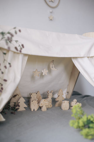 Loullou 1st Play Wooden Sky Set on DLK | designlifekids.com