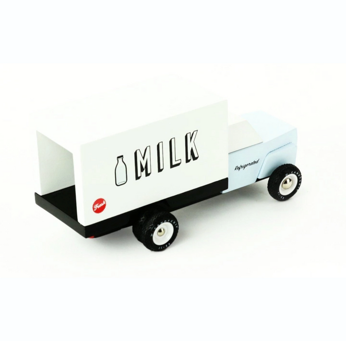 Candylab Wooden Milk Truck on Design Life Kids