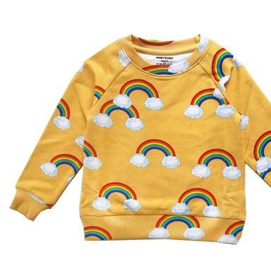 Romey Loves Lulu Rainbow Sweatshirt on Design Life Kids