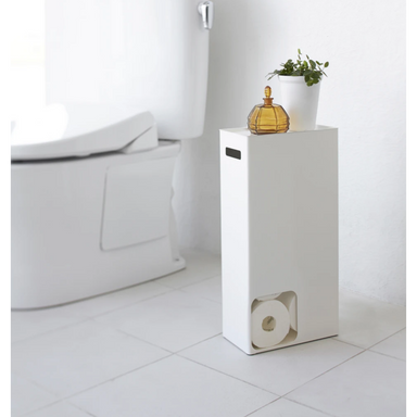 Yamazaki Toilet Paper Stand Holder on Design Life Kids