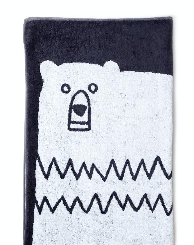 Morihata Animal Bear Bath Towel on DLK | designlifekids.com