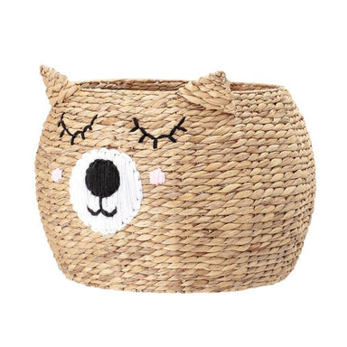 Bloomingville Woven Bear Basket on DLK | designlifekids.com