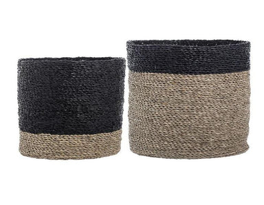 Bloomingville Natural Seagrass Baskets on DLK | designlifekids.com