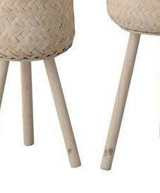 Bloomingville Woven Bamboo Basket Set on DLK | designlifekids.com