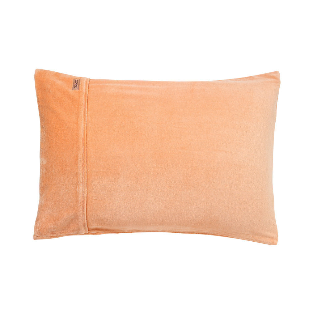 Peach Sorbet Velvet Pillowcase