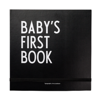 Design Letters Baby's First Book on DLK