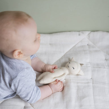 Fabelab Unicorn Rattle Doll on DLK | designlifekids.com