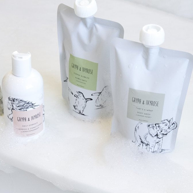 Gryph and IvyRose That's A Wrap All Natural Body Wash on Design Life Kids