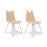 Oeuf Bear + Rabbit Play Chair Set on DLK