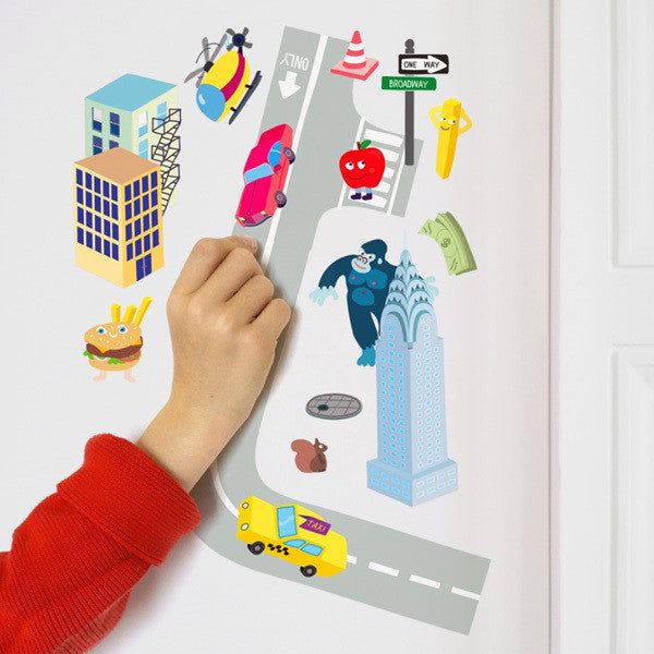 OMY Reusable Wall Stickers on DLK