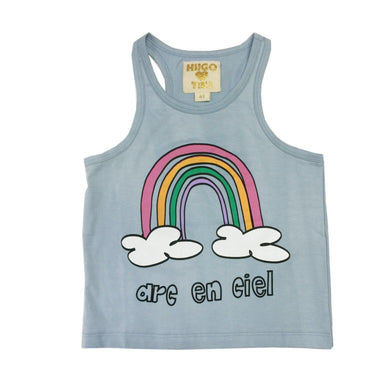 Hugo Loves Tiki Rainbow Tank Top on DLK | designlifekids.com