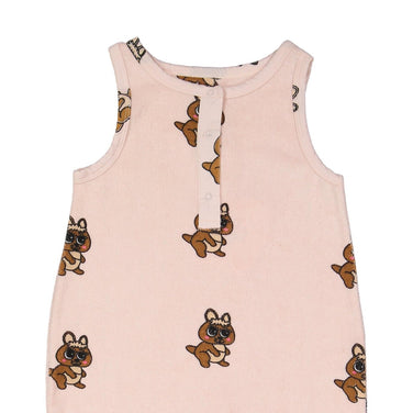 Hugo Loves Tiki Kangaroo Canguro Romper on Design Life Kids