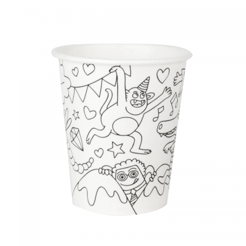 Fun Paper Party Cups