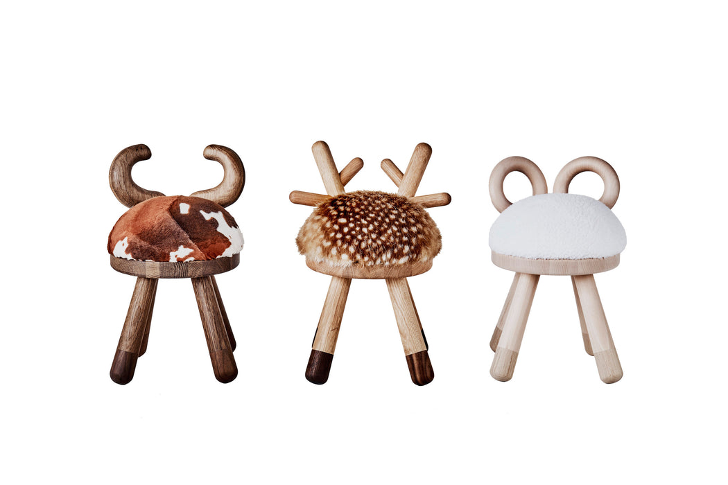 Elements Optimal Cow Chair on DLK | designlifekids.com