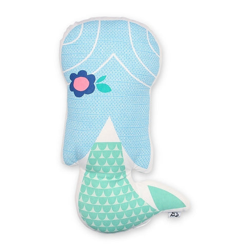 Petite Monkey Suzy Ultman Mermaid Cushion on DLK | designlifekids.com