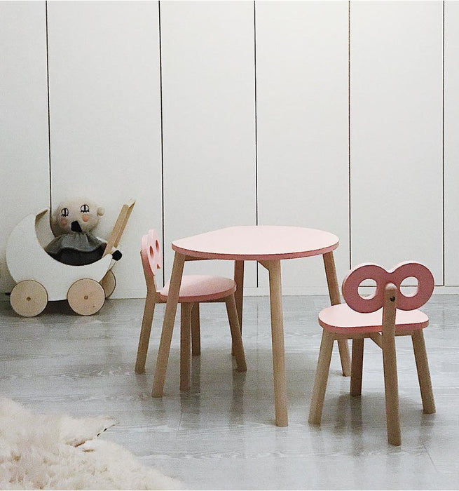 Half-Moon Table & Chair Set