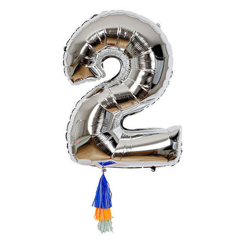 Meri Meri Fancy Number Balloon on DLK | designlifekids.com