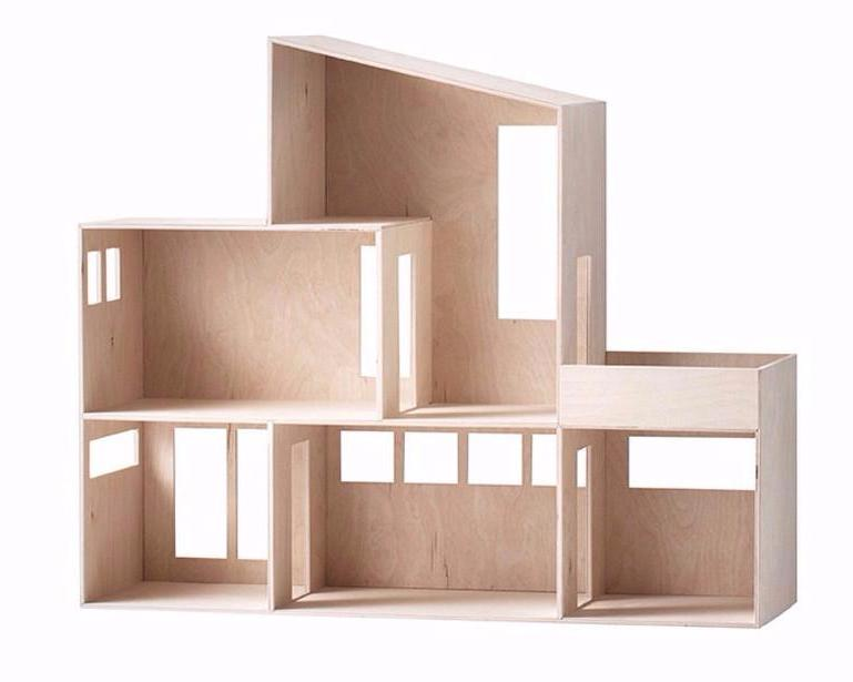 Ferm Living Miniature Funkis House on DLK