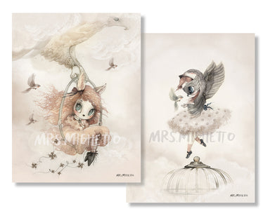 Mrs. Mighetto Limited Edition Prints on DLK | designlifekids.com