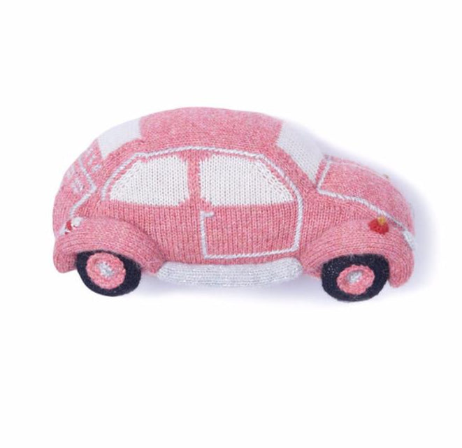 Oeuf Groovy VW Bug Plush Pillow Toy on DLK