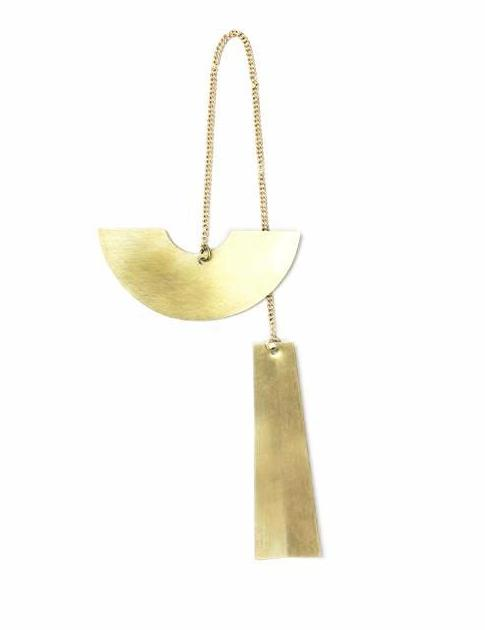 Ferm Living Half Circle Brass Ornament on DLK | designlifekids.com