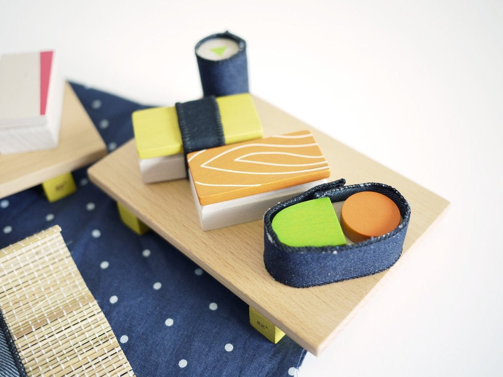 Kukkia Kiko Sushi Toy Set on DLK | designlifekids.com