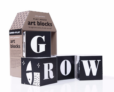 Wee Gallery Playhouse Art Blocks on DLK