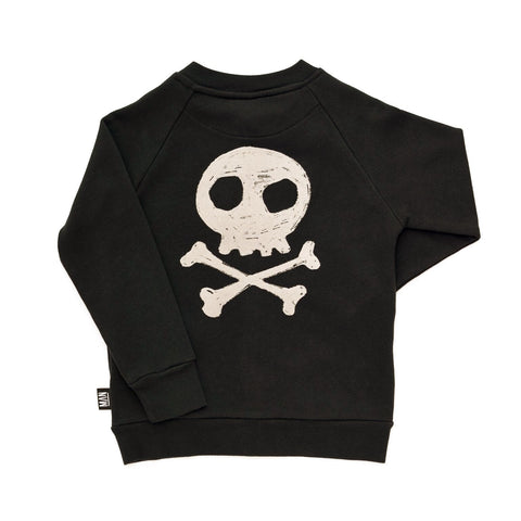 Little Man Happy Danger Zip Sweater Jacket on DLK | designlifekids.com