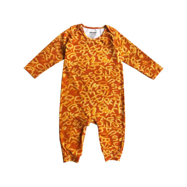 Romey Loves Lulu ABC Alphabet Soup Onesie on Design Life Kids