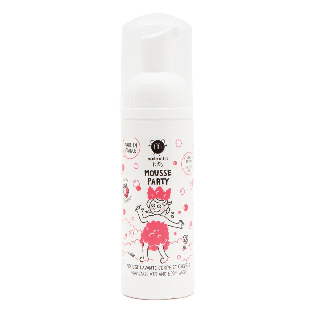 Nailmatic Mousse Party Hair & Bodywash Foam on DLK | designlifekids.com