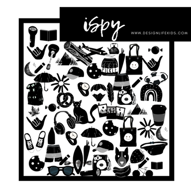 iSpy Free Printable from Design Life Kids