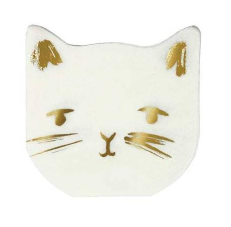 Meri Meri Cat Napkins on DLK | designlifekids.com