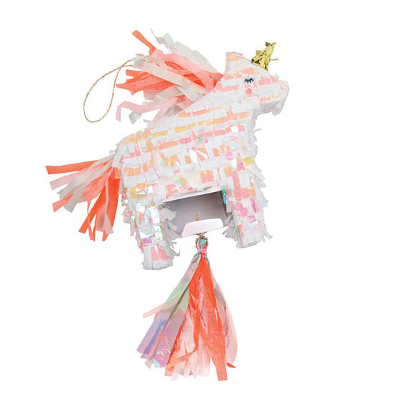 Meri Meri Unicorn Pinata Party Favor on DLK | designlifekids.com