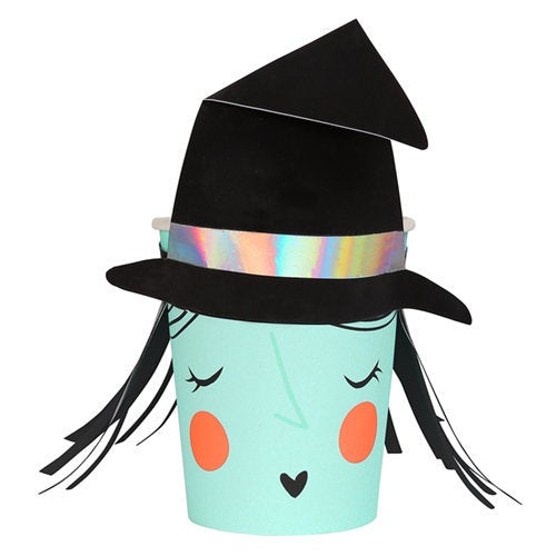 Meri Meri Halloween Witch Party Cups on Design Life Kids
