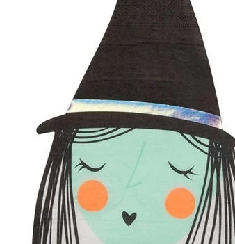 Meri Meri Halloween Witch Party Napkins on Design Life Kids