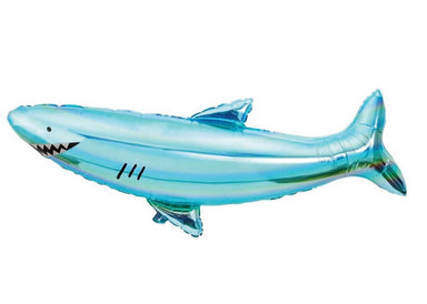 Meri Meri Giant Shark Mylar Balloon on DLK | designlifekids.com