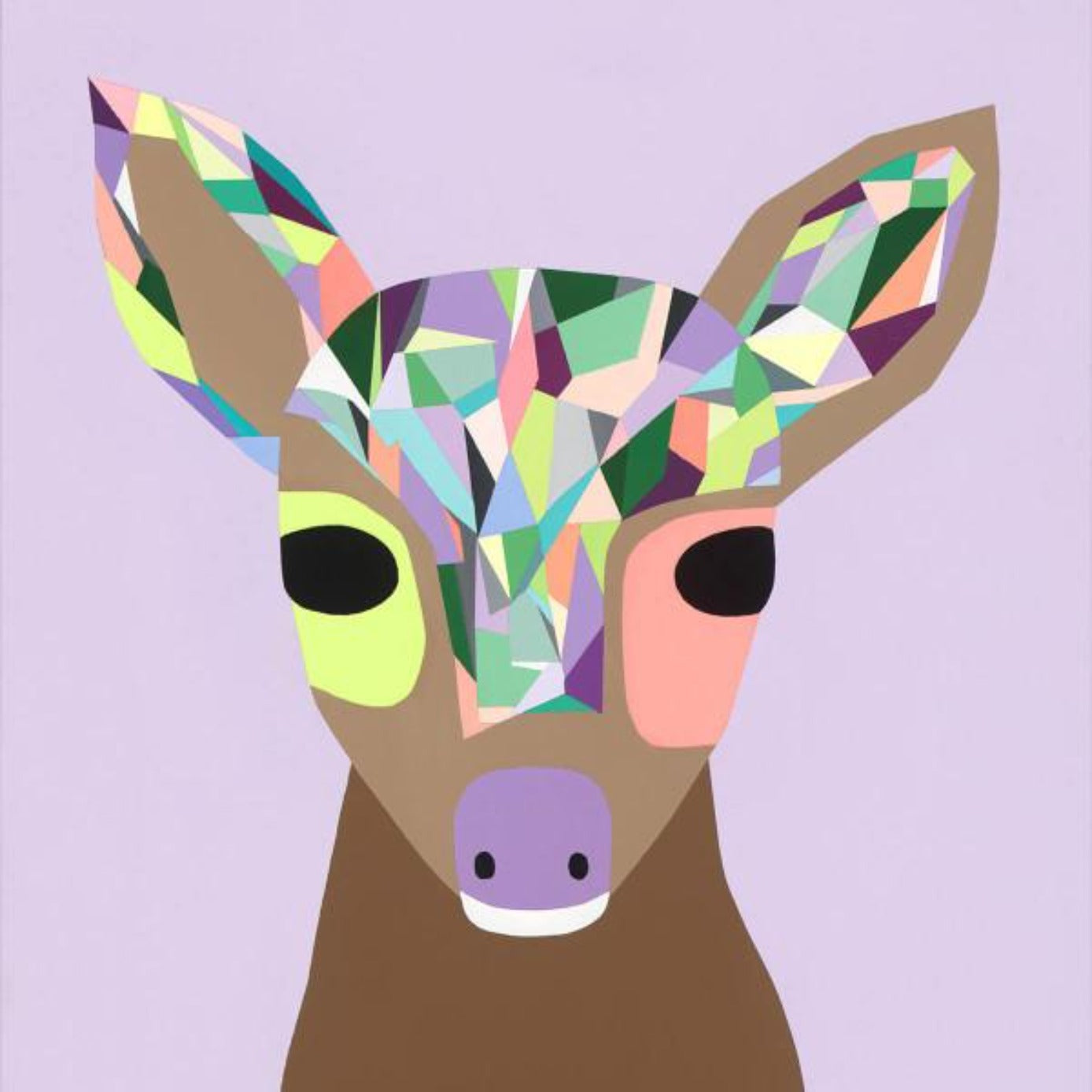 Jujuzozo Modern Art Prints for Kids on DLK
