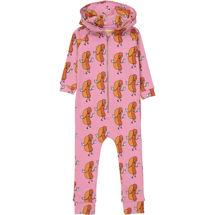 Hugo Loves Tiki Hot Dogs Jumpsuit on DLK | designlifekids.com