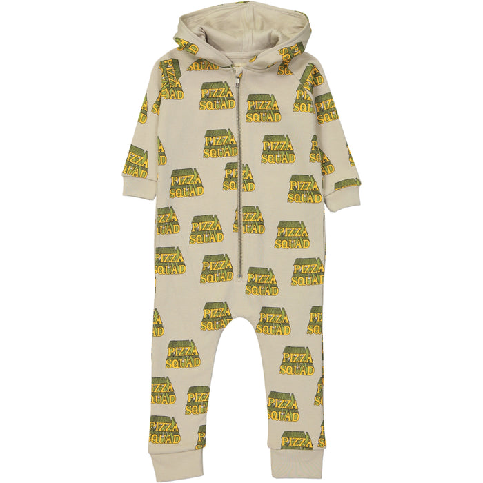 Hugo Loves Tiki Pizza Squad Jumpsuit on DLK | designlifekids.com