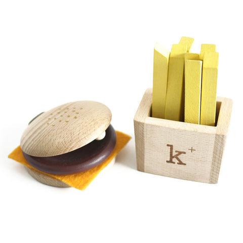 Kukkia Hamburger Instrument Set on DLK | designlifekids.com