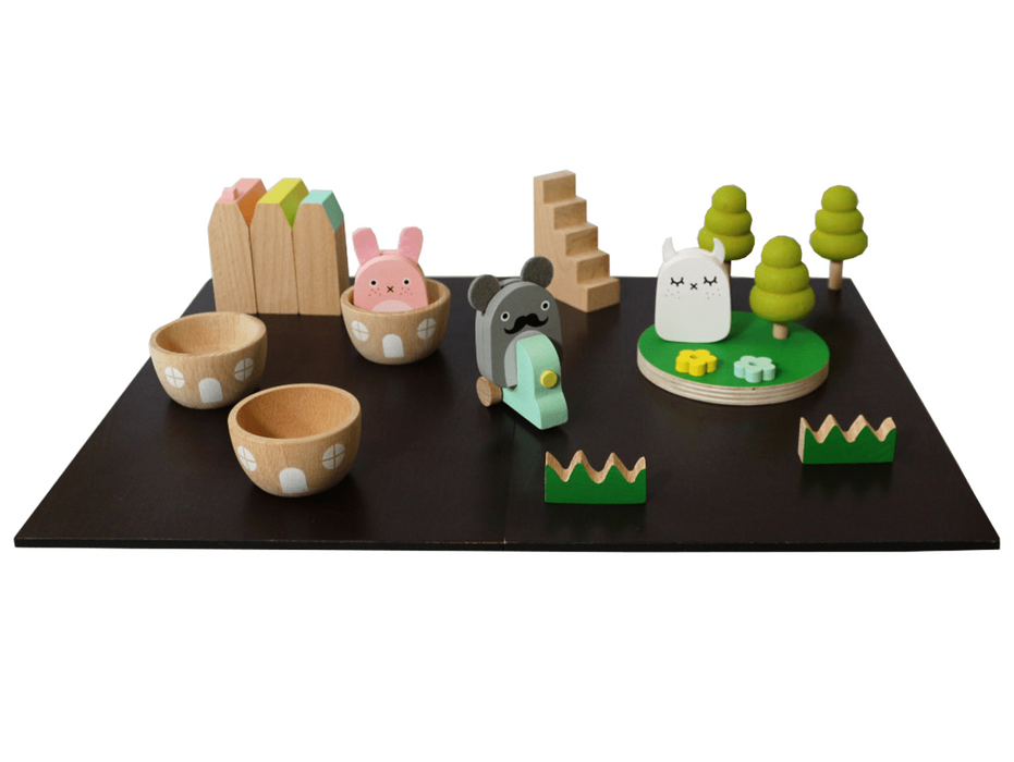 Kiko and Noodoll Machi Town Ricetown on DLK | designlifekids.com