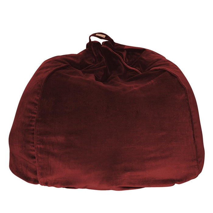 Velvet Beanbag Chair Cover