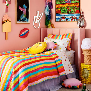 Kip & Co and Studio DIY Pom Pom Pillow on DLK | designlifekids.com
