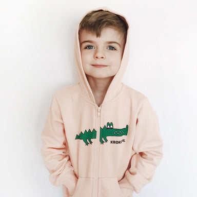 Hugo Loves Tiki Krocodil Hoodie on DLK | designlifekids.com