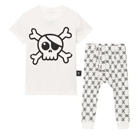 Nununu World Skull Loungewear Pajamas on DLK