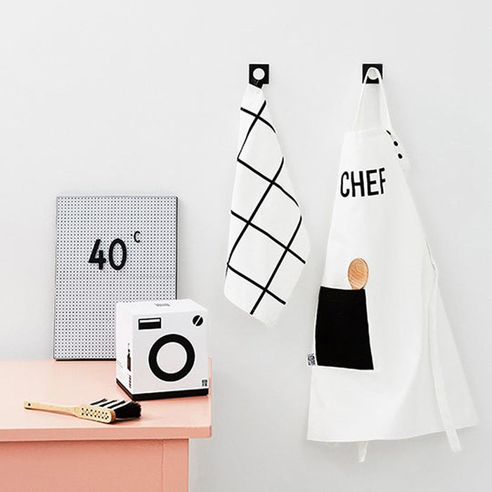 Design Letters Kids Apron and Tea Towel Set on DLK  | designlifekids.com