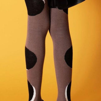 Wolf & Rita Dot Tights on DLK | designlifekids.com