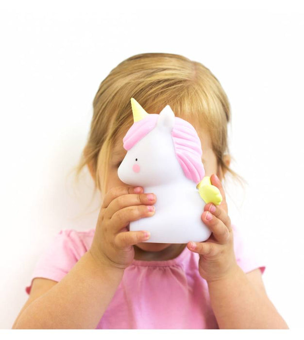A Little Lovely Company Unicorn Light on DLK | designlifekids.com