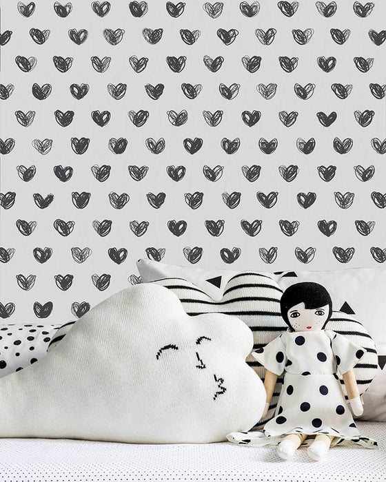 Sissy and Marley Wallpaper on DLK | designlifekids.com